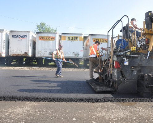 commercial paving services - Palmieri Bros. Paving