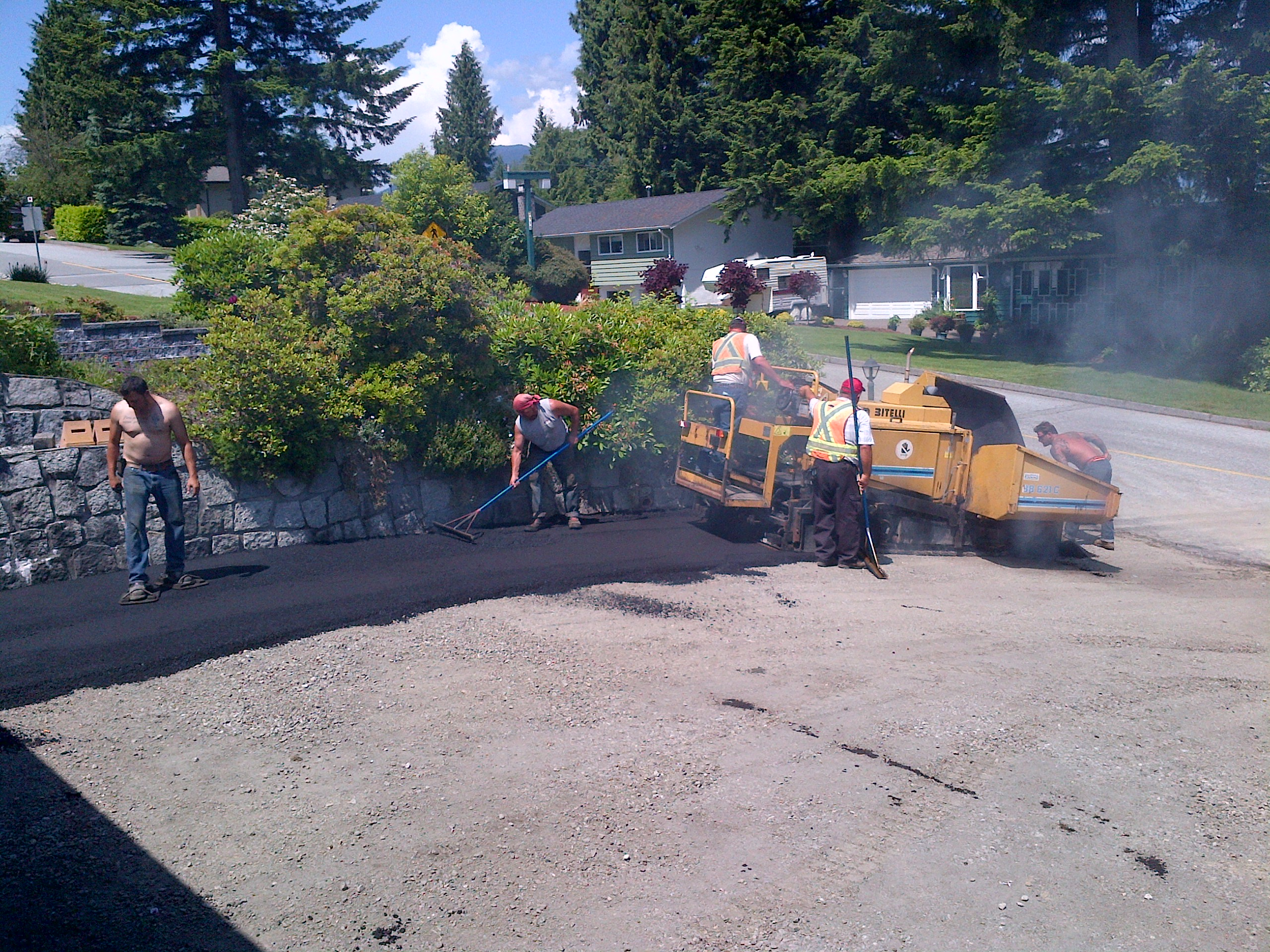 Residential Asphalt Paving - Palmieri Brothers Paving